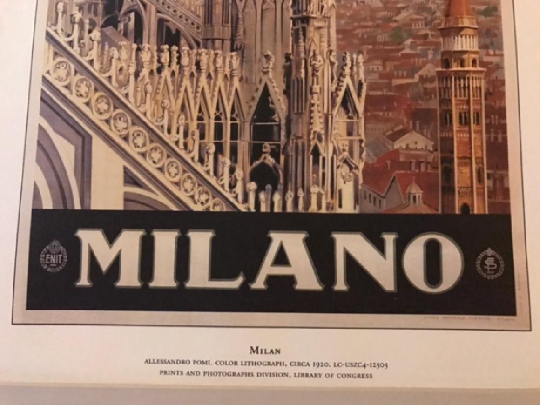 Milano Italy Print c.1920 - 6