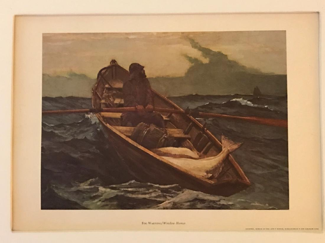 Fog Warning by Winslow Homer - 2