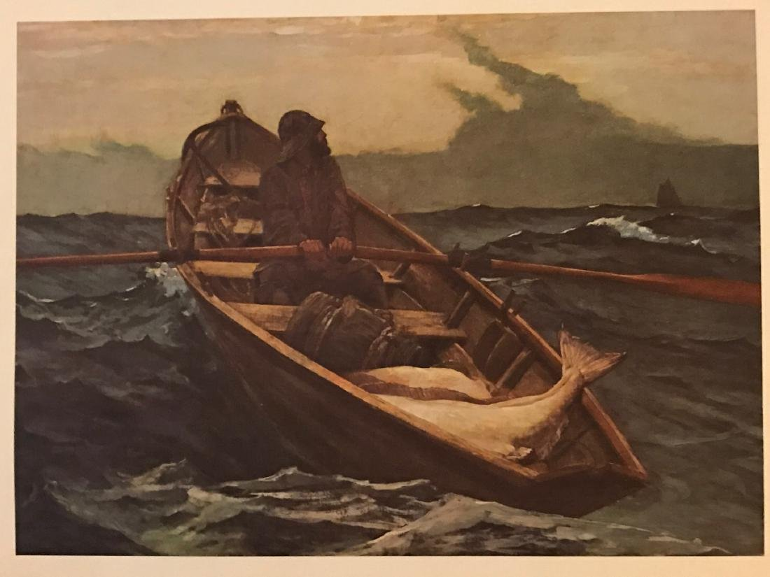 Fog Warning by Winslow Homer - 3