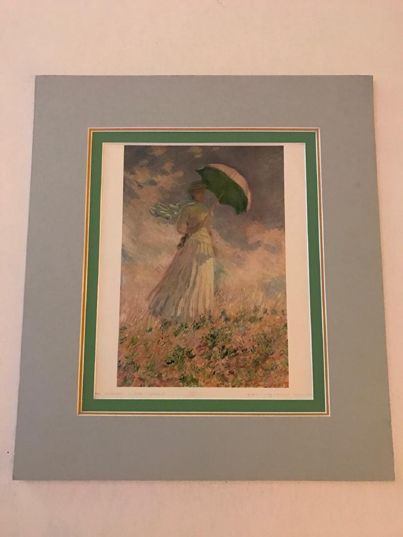 La Famme a L'Ombrelle by Claude Monet