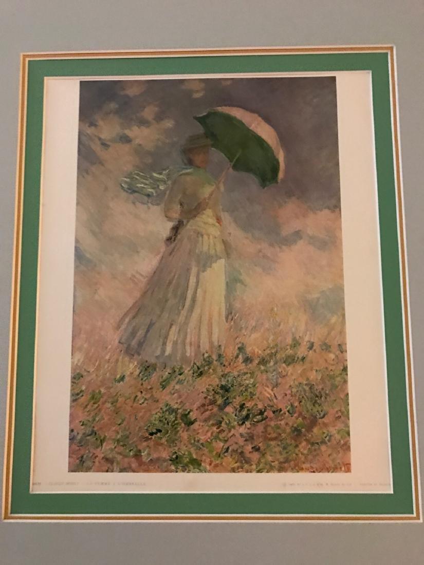 La Famme a L'Ombrelle by Claude Monet - 2