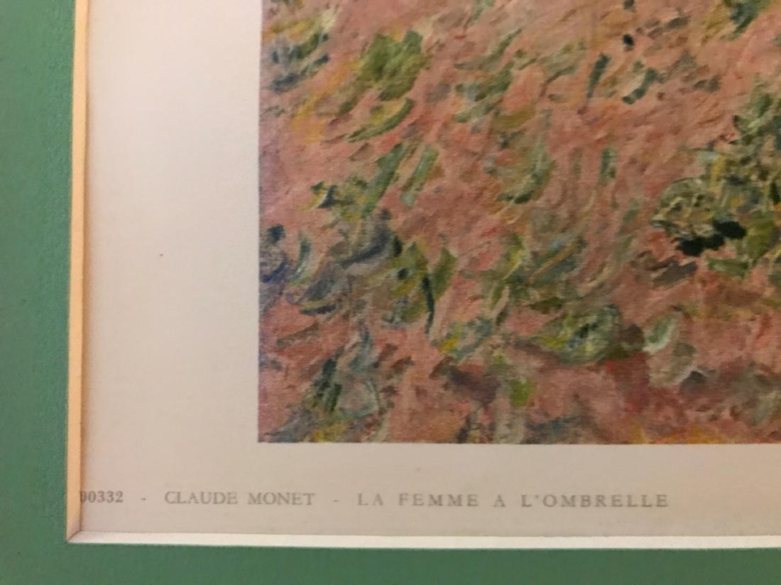 La Famme a L'Ombrelle by Claude Monet - 3