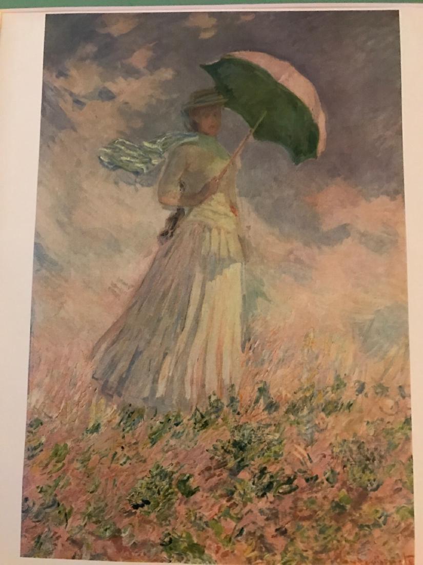 La Famme a L'Ombrelle by Claude Monet - 5
