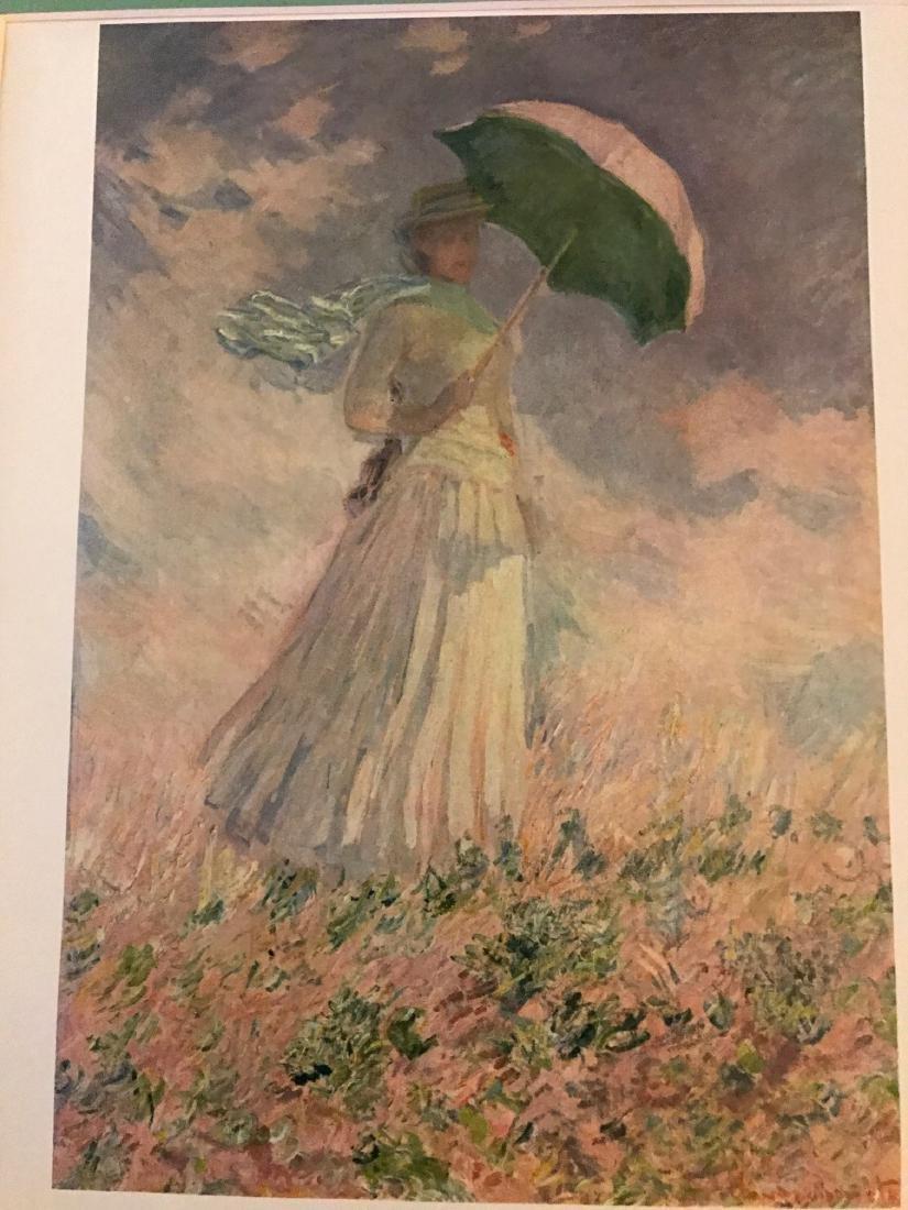 La Famme a L'Ombrelle by Claude Monet - 6