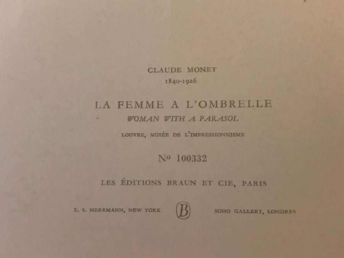 La Famme a L'Ombrelle by Claude Monet - 7