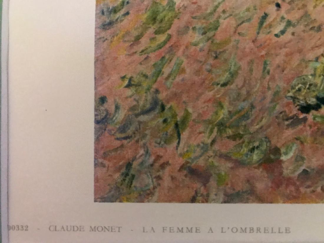La Famme a L'Ombrelle by Claude Monet - 8