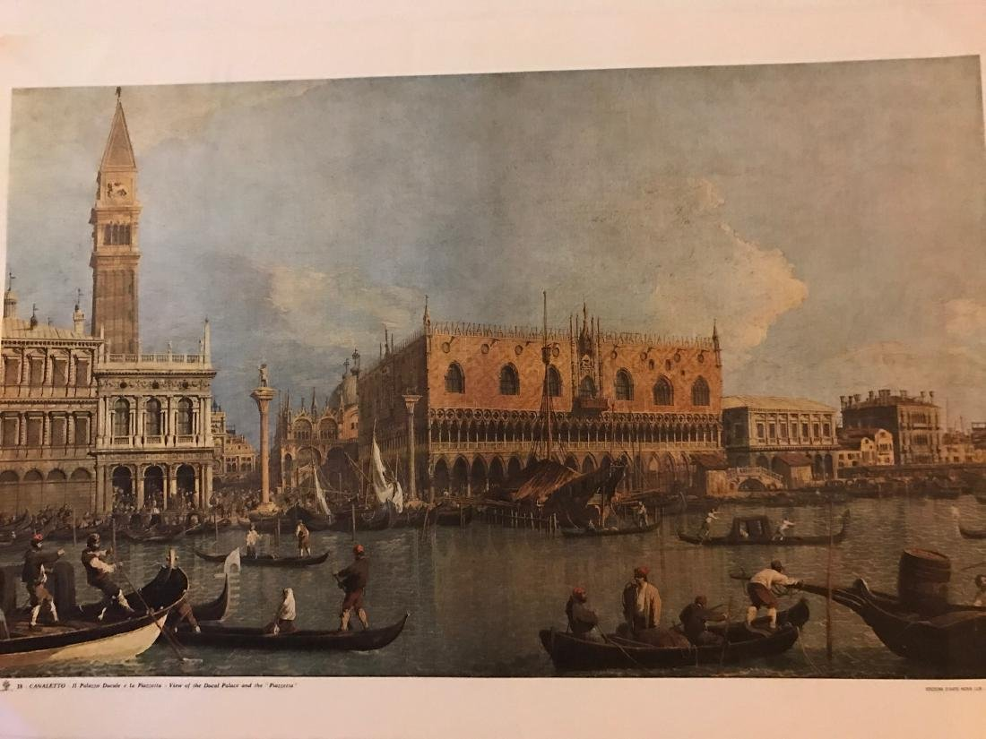 Objects 18 Canaletto, Ducal palace and the piazzetta