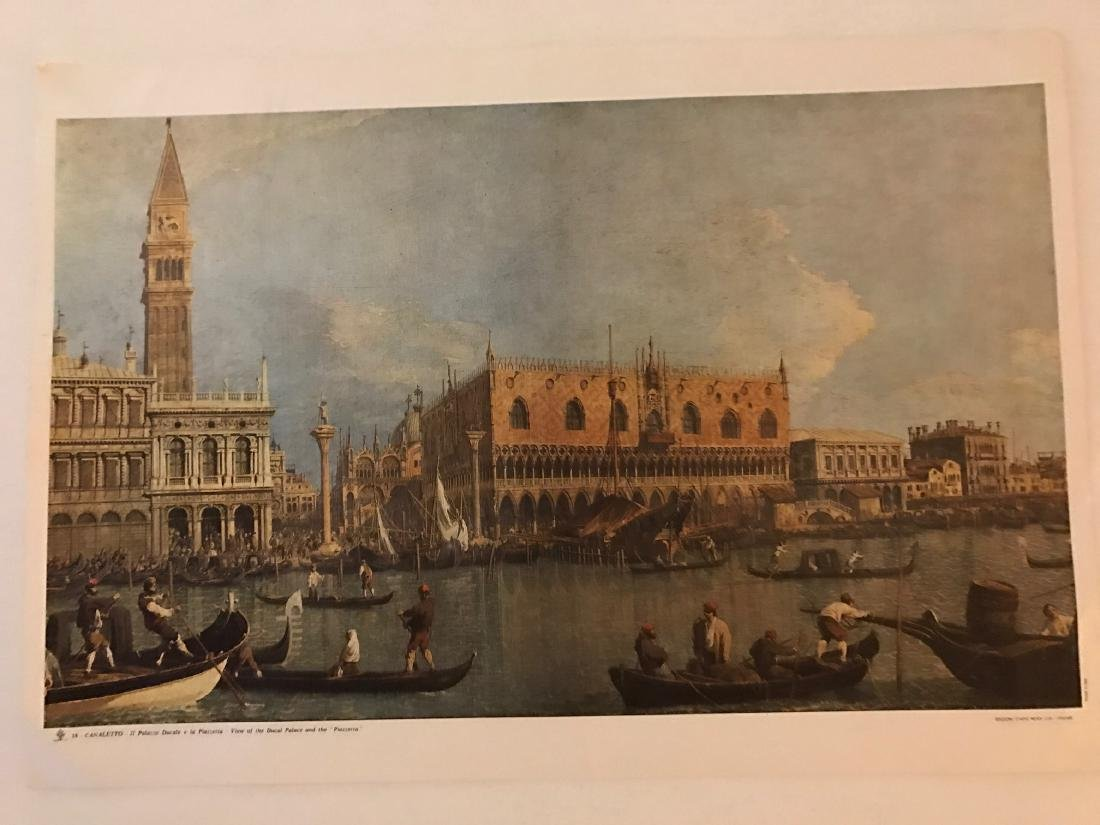 Objects 18 Canaletto, Ducal palace and the piazzetta - 9