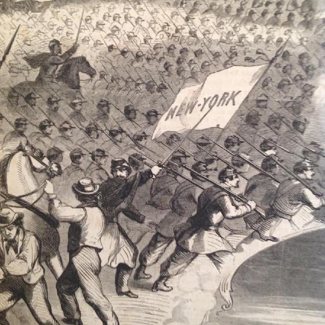 Harpers History Great Rebellion Uprising at the North - 3