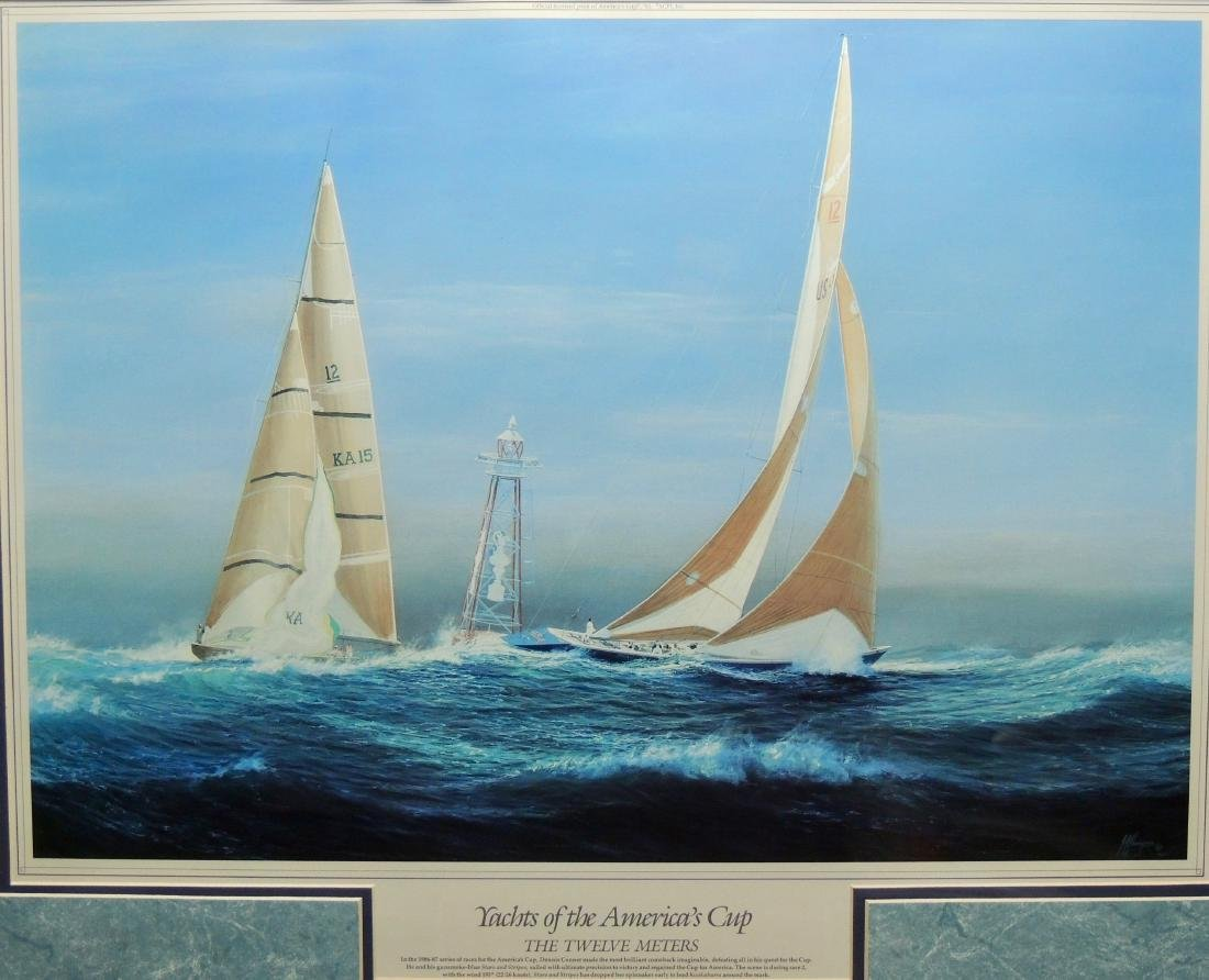 Yachts of the America's Cup, Officially Licensed Fine