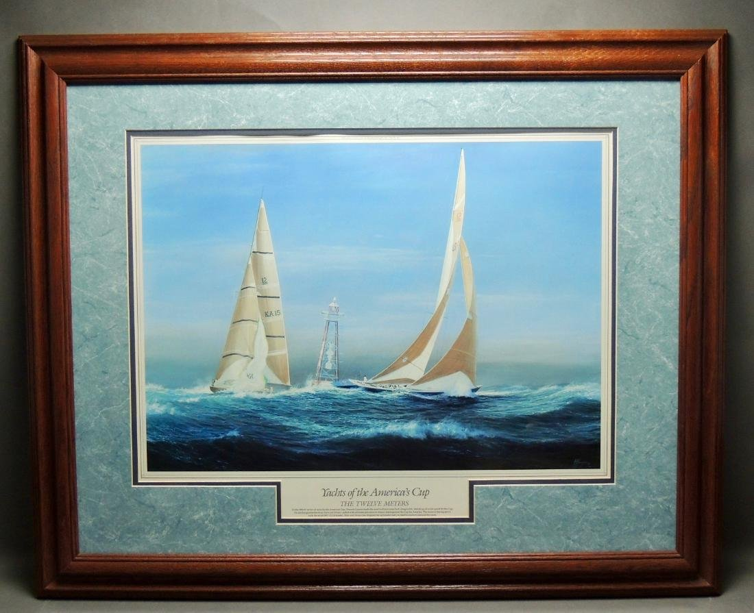 Yachts of the America's Cup, Officially Licensed Fine - 2