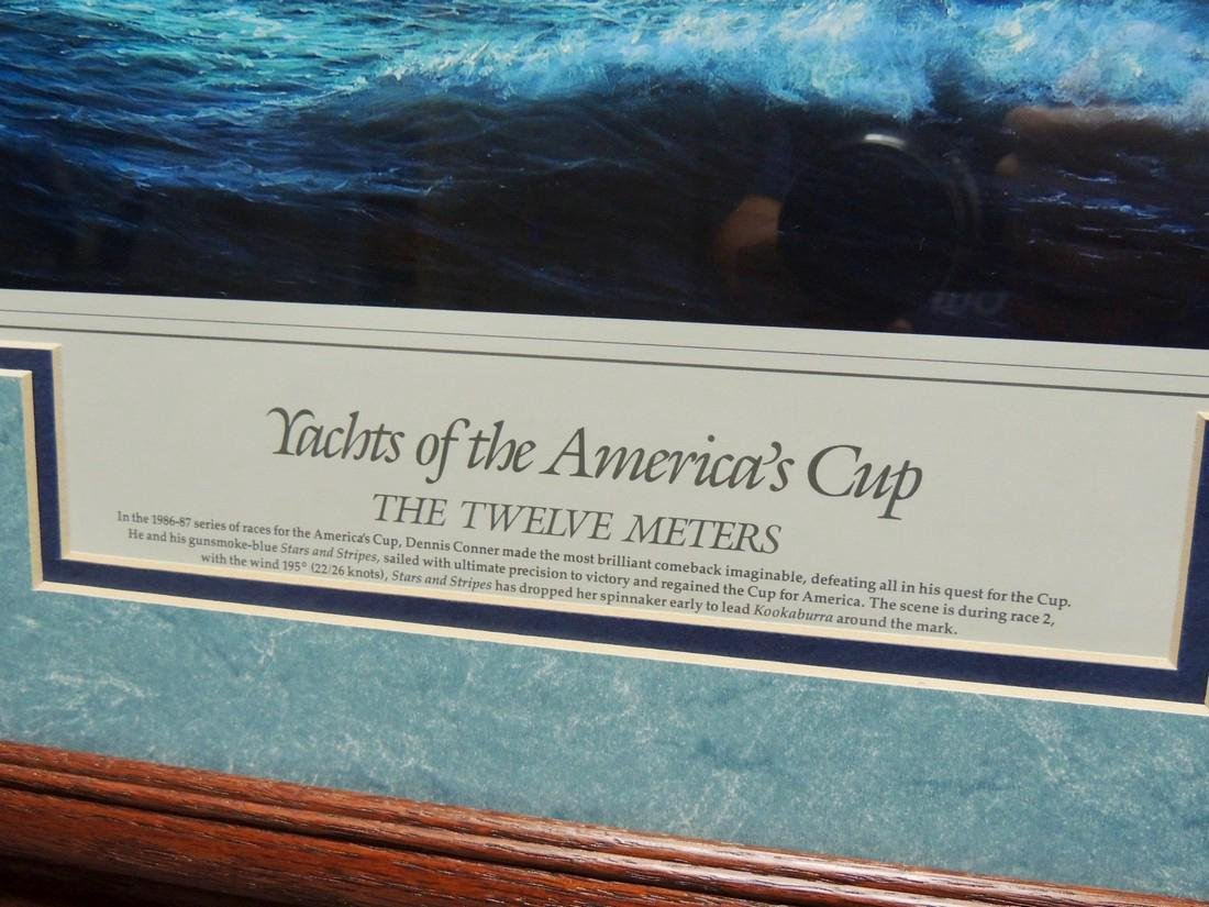 Yachts of the America's Cup, Officially Licensed Fine - 3
