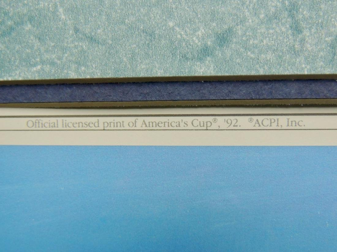 Yachts of the America's Cup, Officially Licensed Fine - 4