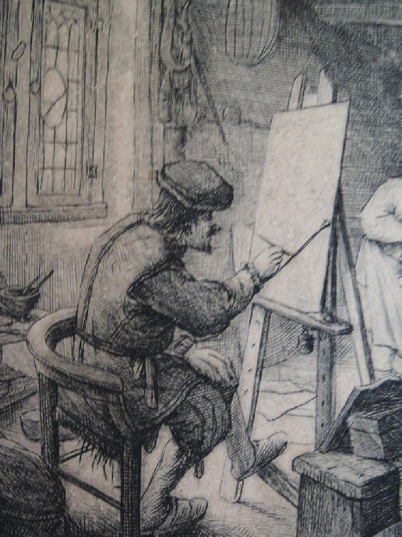 Adriaen van Ostade Etching (Dutch 1610-1685) - 5