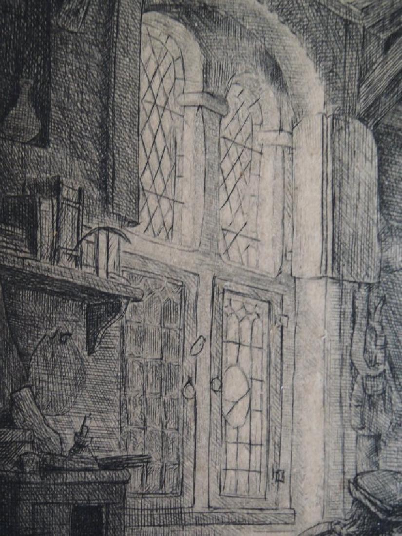 Adriaen van Ostade Etching (Dutch 1610-1685) - 6