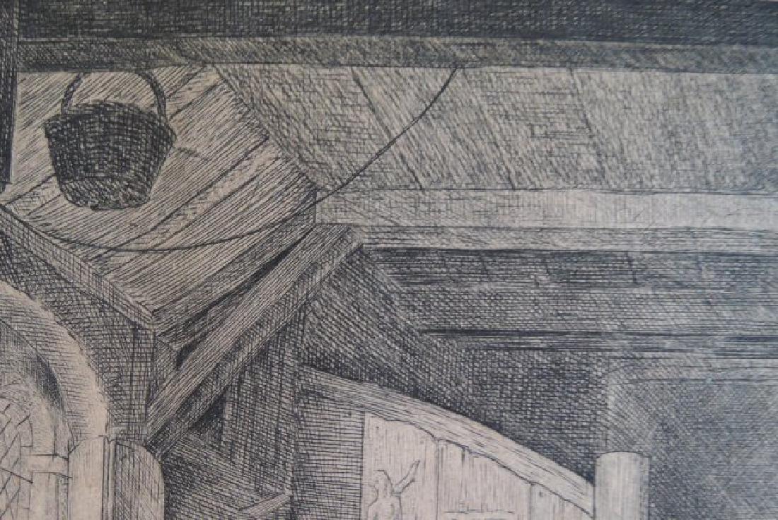 Adriaen van Ostade Etching (Dutch 1610-1685) - 7