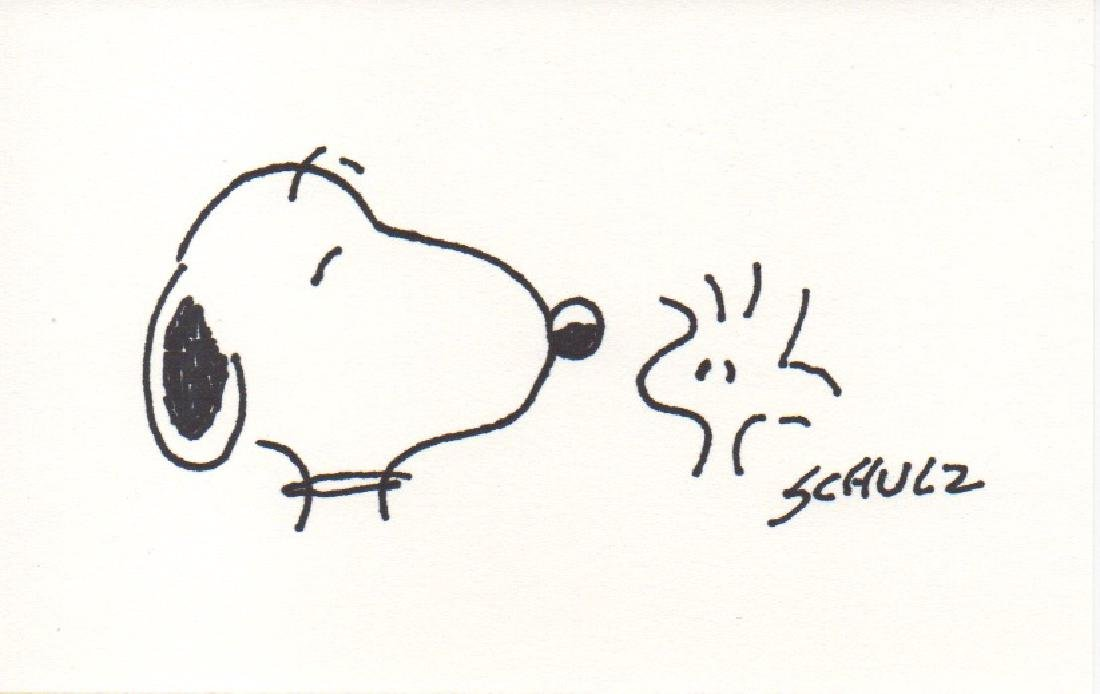 Snoopy Drawing by Charles Schulz