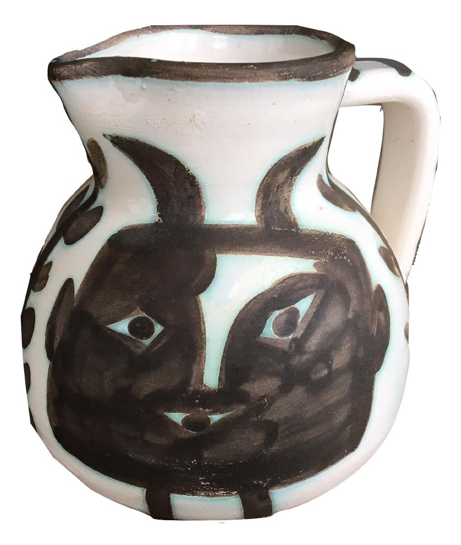 Pablo Picasso Ceramic Pitcher
