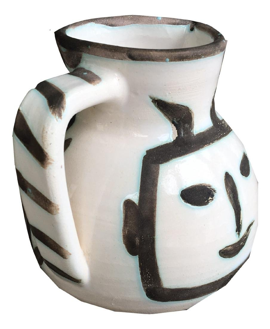 Pablo Picasso Ceramic Pitcher - 3