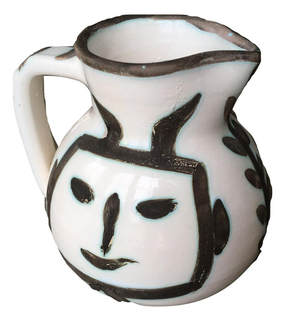 Pablo Picasso Ceramic Pitcher - 4