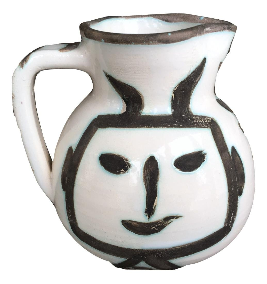 Pablo Picasso Ceramic Pitcher - 5