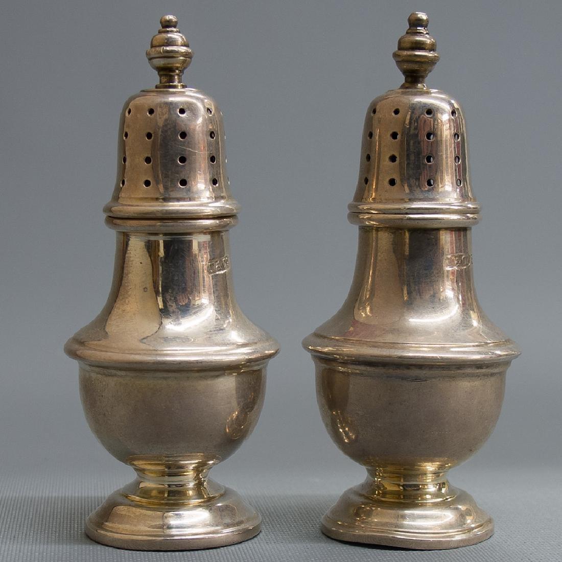 Tiffany & Co Silver Salt & Pepper Pots