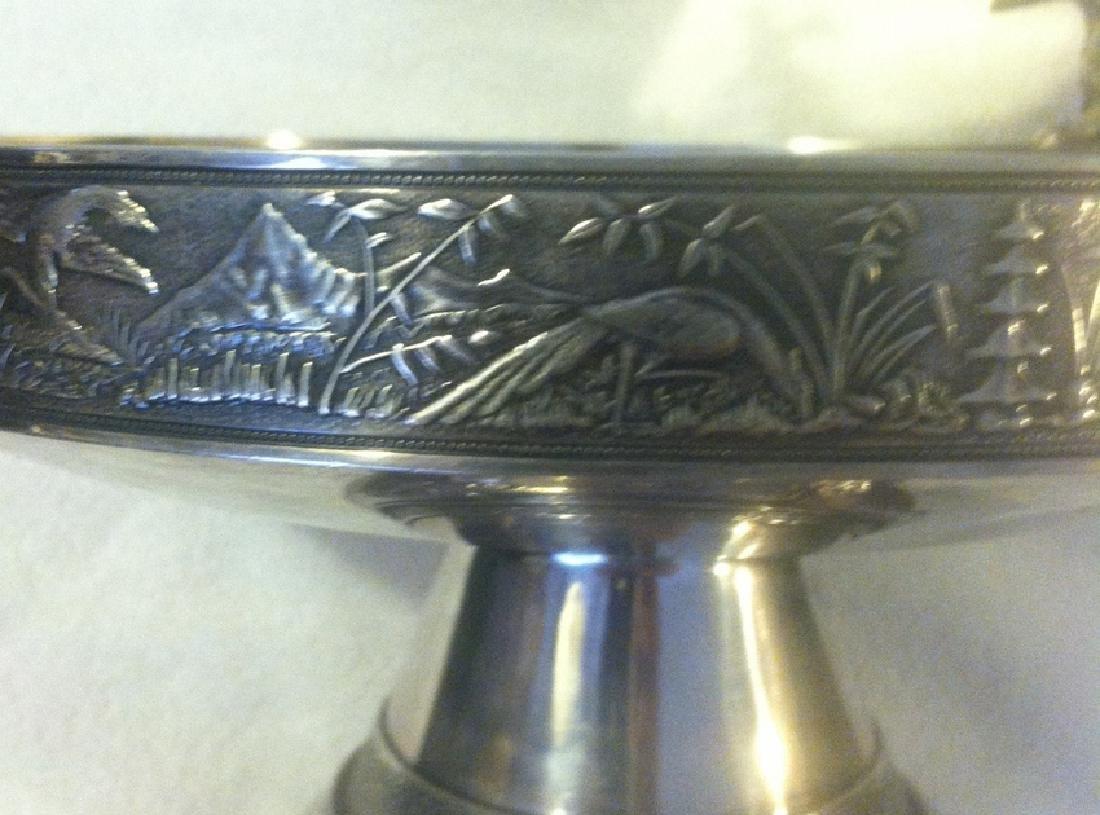 Gorham Sterling Silver Tazza - 7