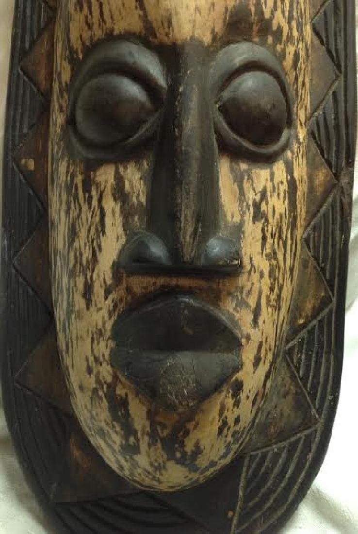 African Tribal Ceremonial Igbo Mask - 2