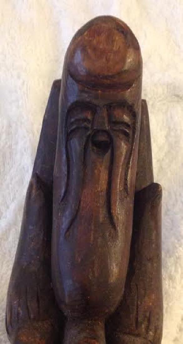 African Tribal Ceremonial Staff - 5