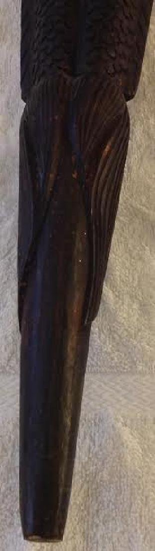 African Tribal Ceremonial Staff - 7