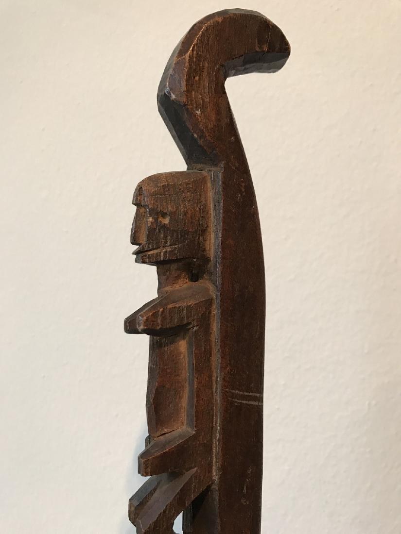 Dogon Mali Ritual Staff - 6