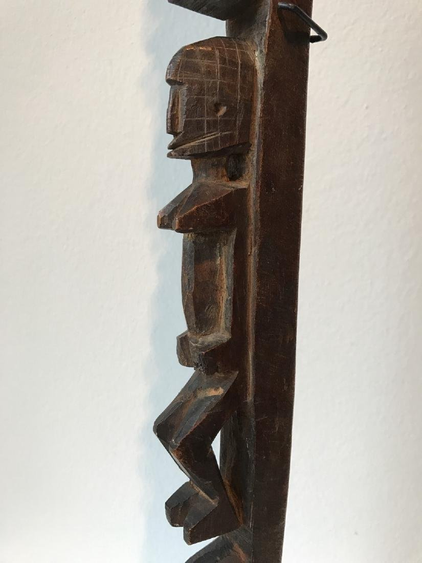 Dogon Mali Ritual Staff - 8