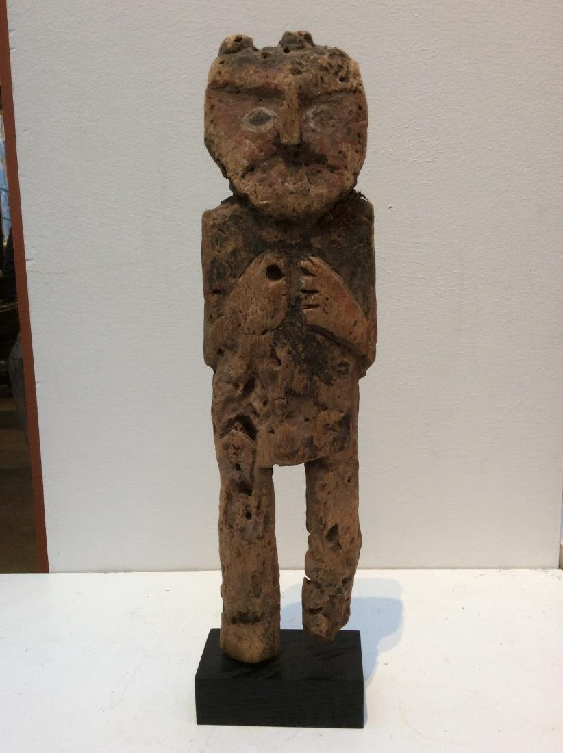 Wood Idol, Peru, Chancay
