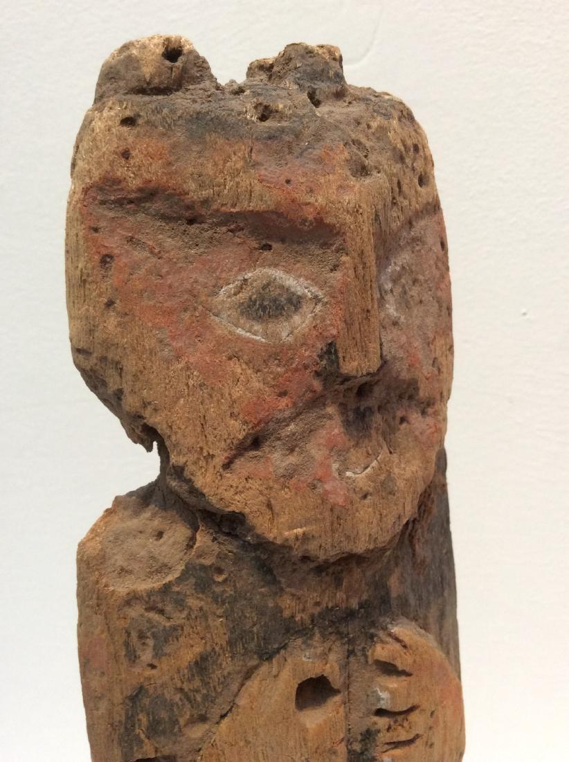 Wood Idol, Peru, Chancay - 8
