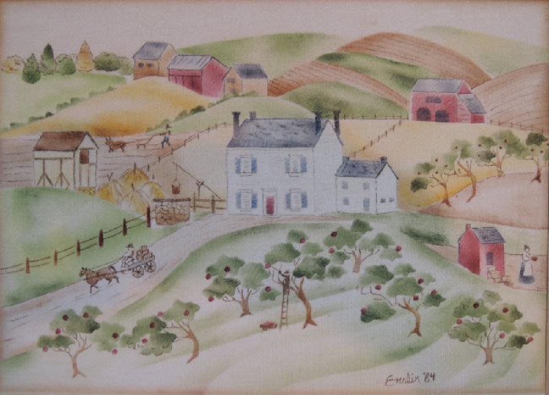 Pat Enslin Landscape - 2