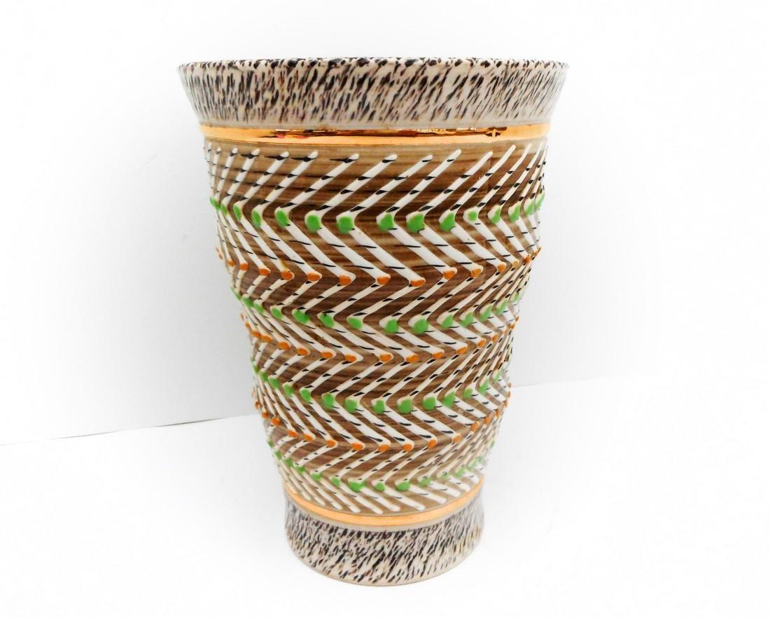 Brisdoux Mid Century Art Pottery Vase