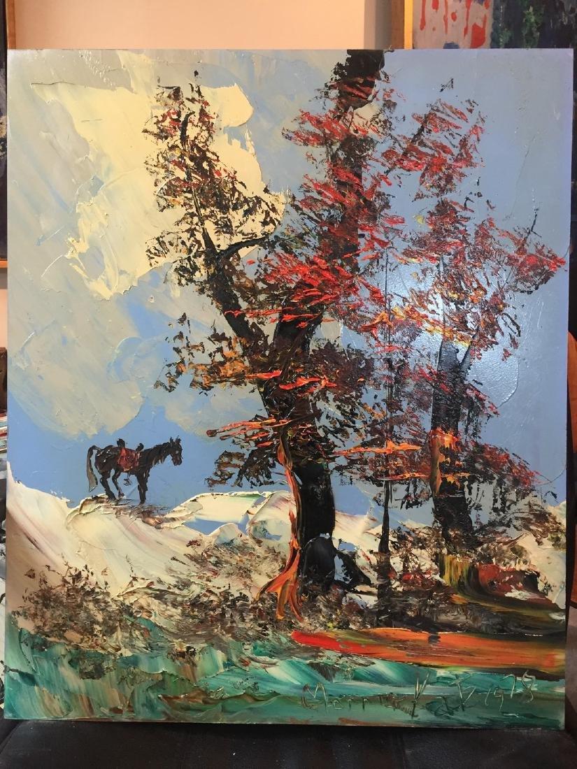 Morris Katz: Horse, 1978