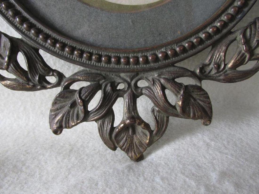 Antique Art Nouveau Hanging Picture Frame - 5