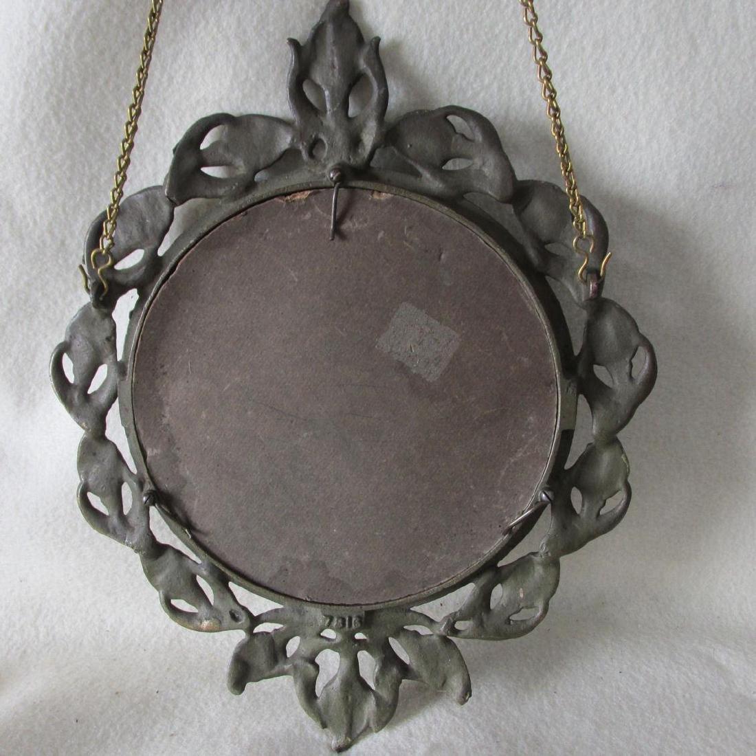 Antique Art Nouveau Hanging Picture Frame - 6