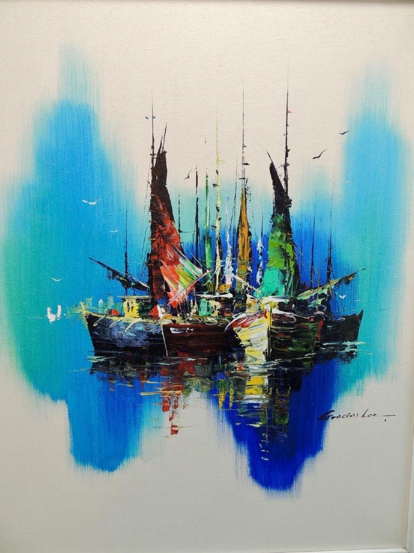 Gordon Lee: Nautical Scene, Signed