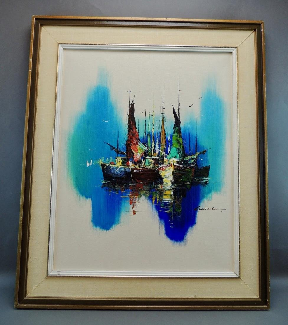 Gordon Lee: Nautical Scene, Signed - 2
