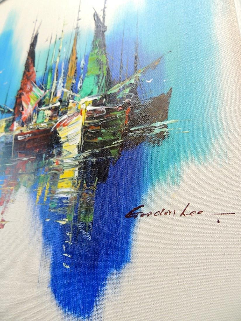 Gordon Lee: Nautical Scene, Signed - 3