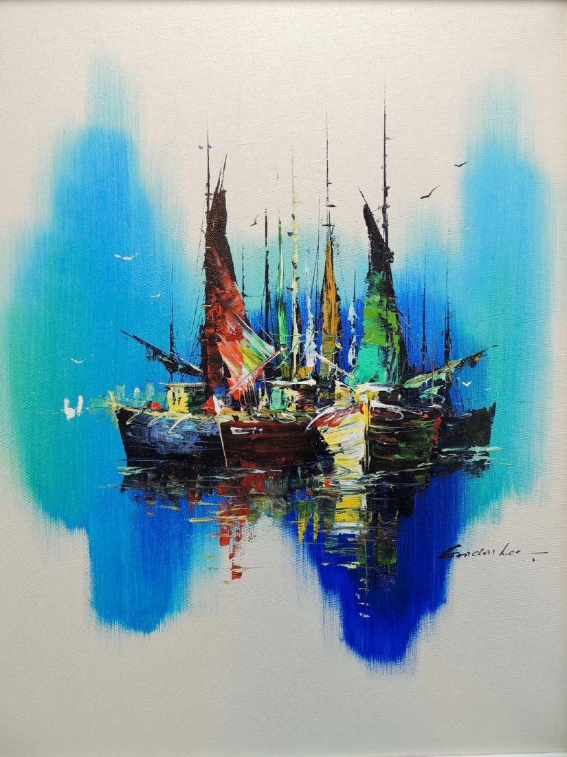 Gordon Lee: Nautical Scene, Signed - 4
