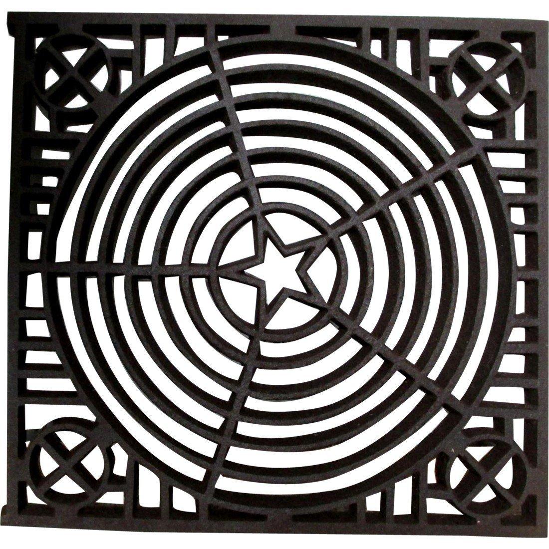 Antique Architectural Element, Cast Iron Grate