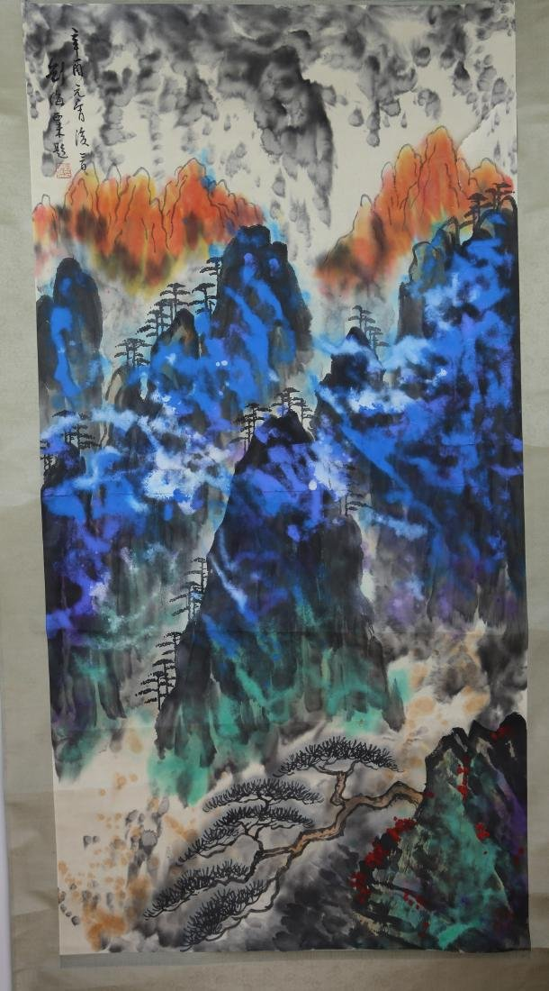 Chinese Painting by Liu Hai Shu