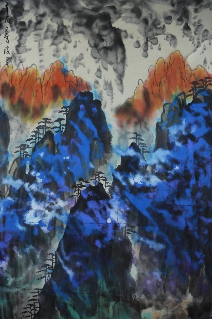 Chinese Painting by Liu Hai Shu - 2