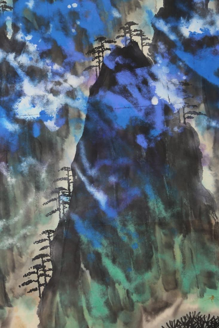 Chinese Painting by Liu Hai Shu - 4