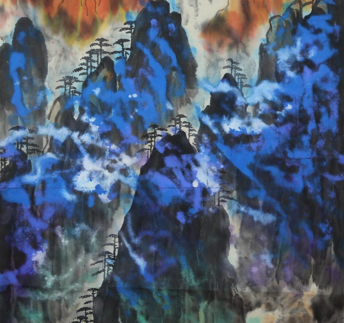 Chinese Painting by Liu Hai Shu - 6