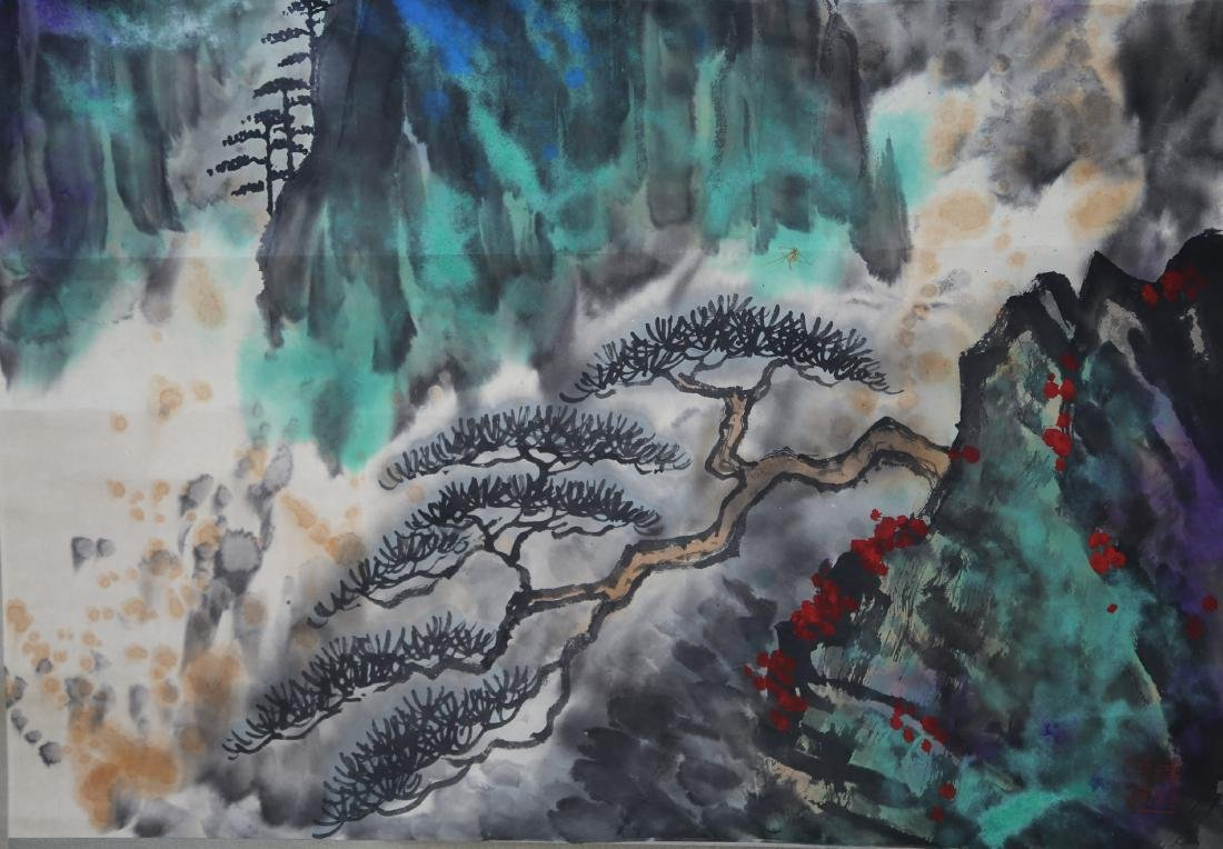 Chinese Painting by Liu Hai Shu - 7