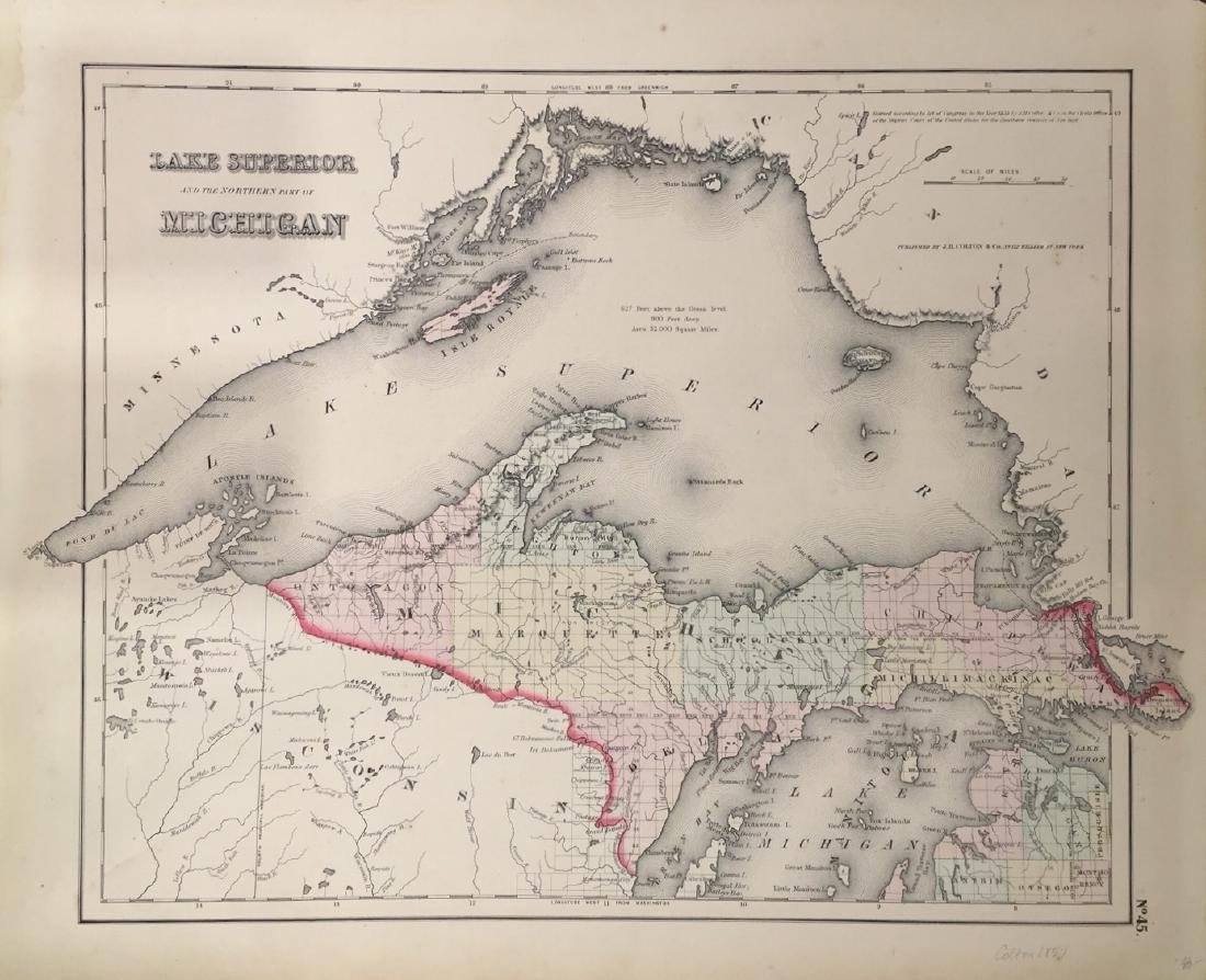 Lake Superior and the Northern Part of Michigan by J.